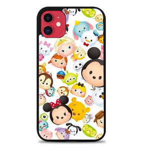Custodia Cover iphone 11 pro max tsum tsum disney W9614 Case