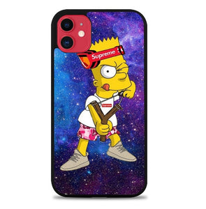 Custodia Cover iphone 11 pro max the simpsons W9646 Case