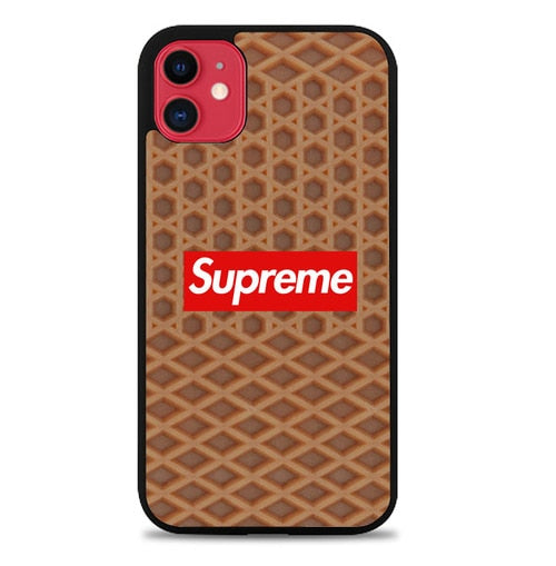 Custodia Cover iphone 11 pro max wafel W9659 Case