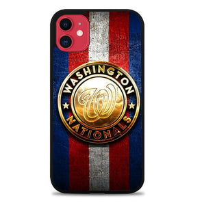 Custodia Cover iphone 11 pro max WASHINGTON NATIONALS BASEBALL W9662 Case