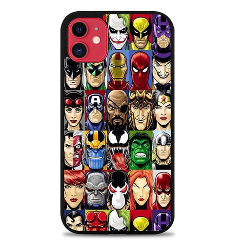 Custodia Cover iphone 11 pro max Marvel Dc W9668 Case