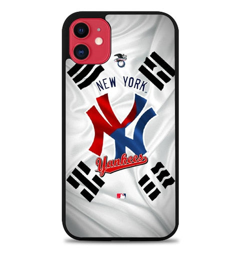 Custodia Cover iphone 11 pro max new york yankees W9678 Case