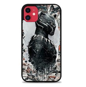 Custodia Cover iphone 11 pro max black panther W9732 Case