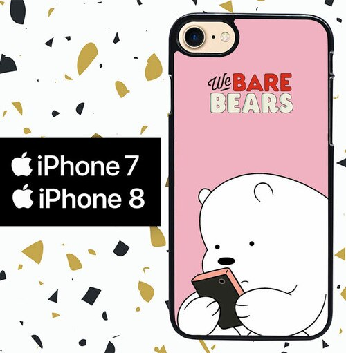 Custodia Cover iphone 7 8 we bare bears WY0016 Case