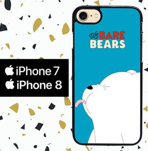 Custodia Cover iphone 7 8 we bare bears WY0017 Case