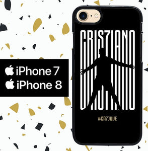Custodia Cover iphone 7 8 Cristiano Ronaldo WY0022 Case