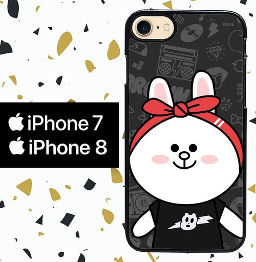 Custodia Cover iphone 7 8 LINE CONY WY0039 Case