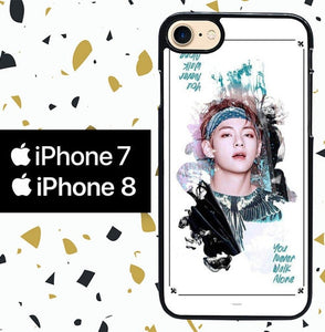 Custodia Cover iphone 7 8 Jungkook WY0052 Case