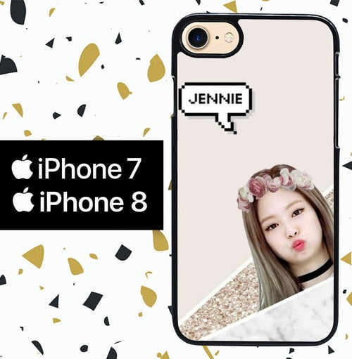 Custodia Cover iphone 7 8 Jennie WY0068 Case