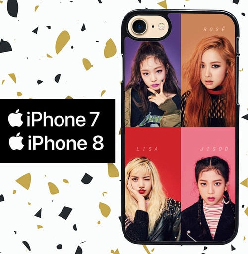 Custodia Cover iphone 7 8 BLACKPINK WY0070 Case