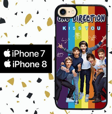 Custodia Cover iphone 7 8 One Direction KISS YOU Y2308 Case