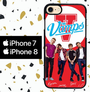 Custodia Cover iphone 7 8 the vamps Y2323 Case