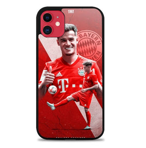 Custodia Cover iphone 11 pro max Philippe Coutinho Bayern Q0273 Case