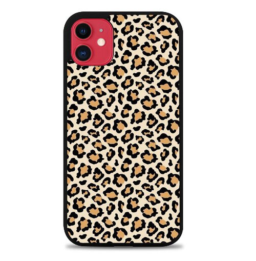 Custodia Cover iphone 11 pro max Cheetah Wallpaper Q0297 Case