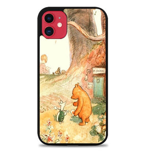 Custodia Cover iphone 11 pro max winnie the pooh vintage Q0312 Case
