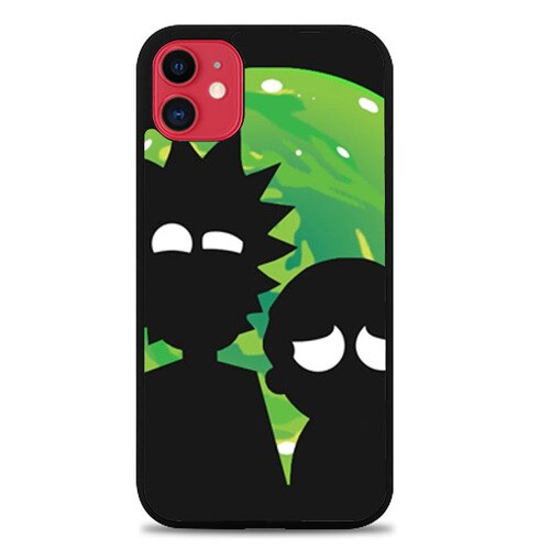Custodia Cover iphone 11 pro max Rick And Morty J1044 Case