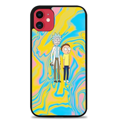 Custodia Cover iphone 11 pro max Rick And Morty J1038 Case