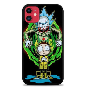Custodia Cover iphone 11 pro max Rick And Morty IT J1043 Case