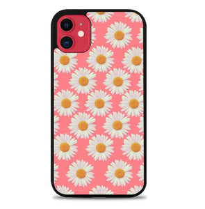 Custodia Cover iphone 11 pro max Flowers Pattern Pink J1131 Case