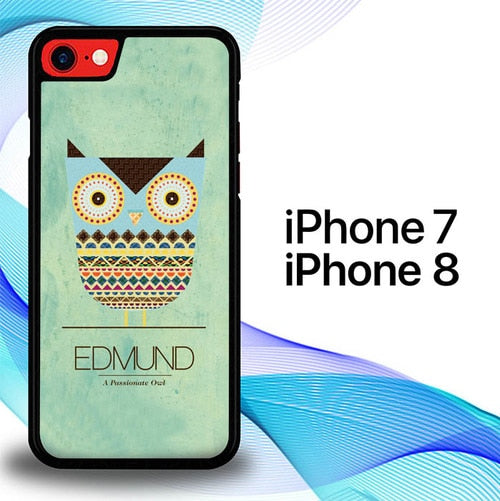 Custodia Cover iphone 7 8 Owl Edmun E0103 Case
