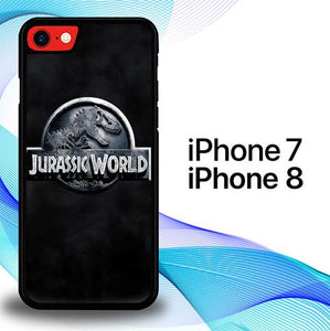 Custodia Cover iphone 7 8 Jurassic World E0155 Case