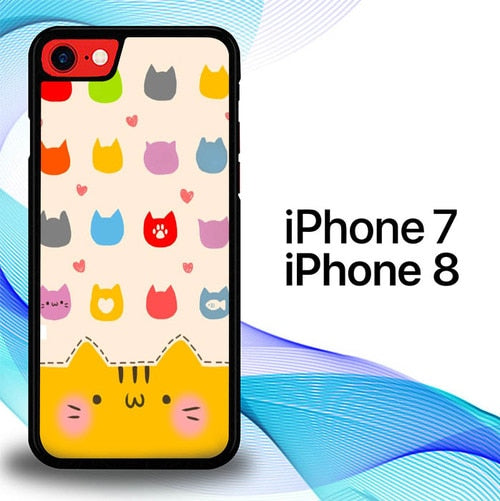 Custodia Cover iphone 7 8 Fotos De Pantalla E0282 Case