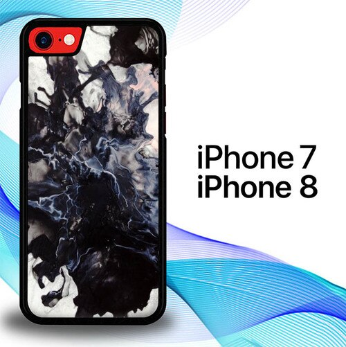 Custodia Cover iphone 7 8 Marble Art E0354 Case