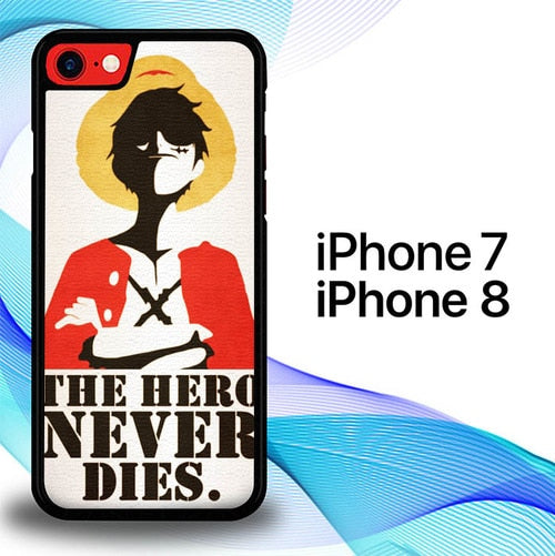Custodia Cover iphone 7 8 Monkey D. Luffy One Piece E0458 Case