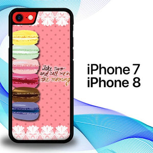 Custodia Cover iphone 7 8 Macarons E0782 Case