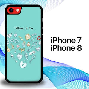 Custodia Cover iphone 7 8 Tiffany Jewelry And Diamond E1612 Case