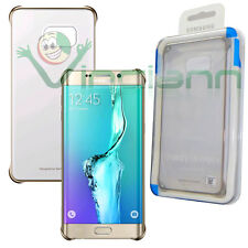 CUSTODIA SAMSUNG S VIEW COVER ORO ORIGINALE0 EF-CG928PFEGWW GALAXY S6 EDGE  PL