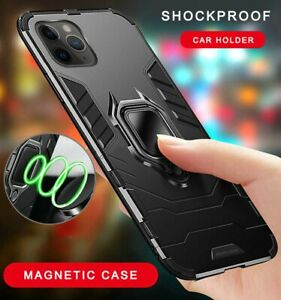 Cover per iPhone 11 Pro XS Max XR 6s 8 Plus Magnetico custodia antiurto  supporto