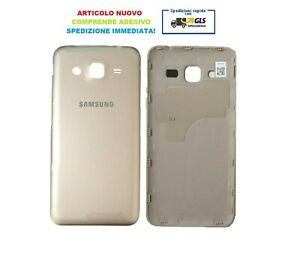 BATTERY COVER COPRI BATTERIA SAMSUNG GALAXY J320F J3 2016 ORO GOLD
