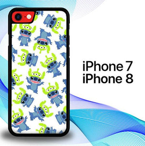 Custodia Cover iphone 7 8 Stitch Doodle Art P0741 Case