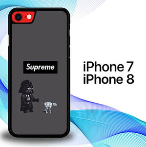 Custodia Cover iphone 7 8 Supreme x Star Wars P0872 Case