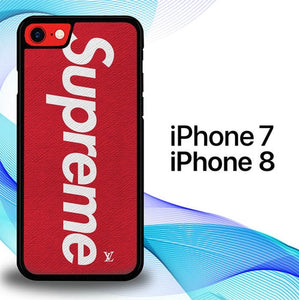 Custodia Cover iphone 7 8 Supreme Texture P0877 Case