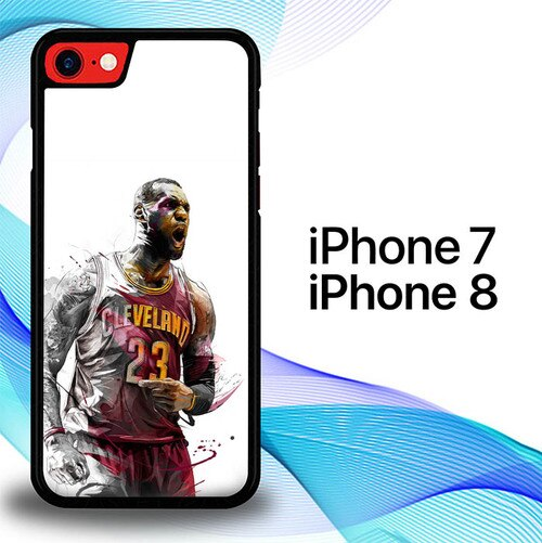 Custodia Cover iphone 7 8 Lebron James is the best high definition P1599 Case