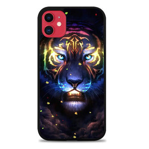 Custodia Cover iphone 11 pro max Neon Leon P1837 Case