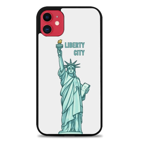 Custodia Cover iphone 11 pro max Liberty City Icon P1848 Case
