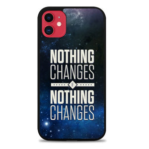 Custodia Cover iphone 11 pro max Nothing Change P1891 Case