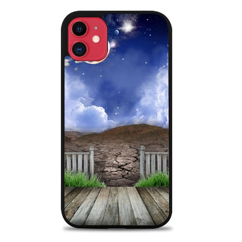 Custodia Cover iphone 11 pro max My Home In The Moon P1916 Case