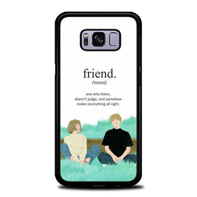 Custodia Cover samsung galaxy s8 s8 edge plus All About Friends P2004 Case