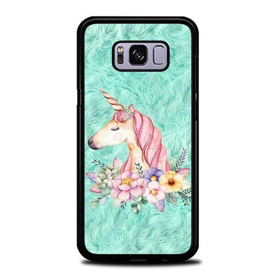 Custodia Cover samsung galaxy s8 s8 edge plus Cute Unicorn Painting P2007 Case