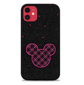 Custodia Cover iphone 11 pro max Minnie Mouse Black Pink Pattern P2169 Case