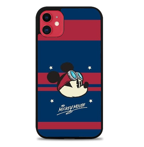 Custodia Cover iphone 11 pro max Mickey Mouse Boy P2181 Case
