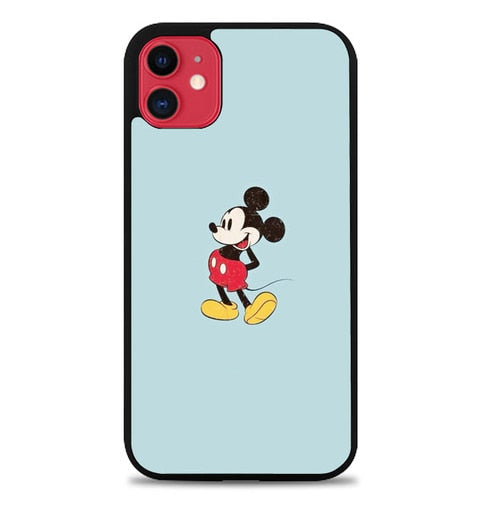 Custodia Cover iphone 11 pro max Mickey Mouse Blue P2208 Case