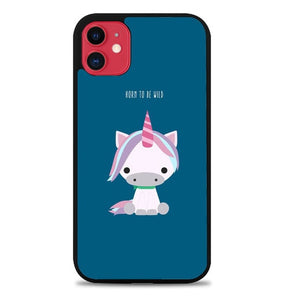 Custodia Cover iphone 11 pro max Horn To Be Wild Unicorn P2220 Case