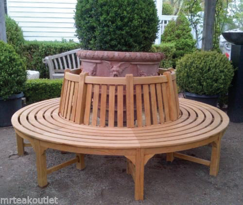 Belvoir Teak Tree Bench
