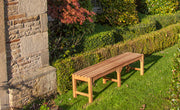 Hardwick Four Seat Backless Teak Bench