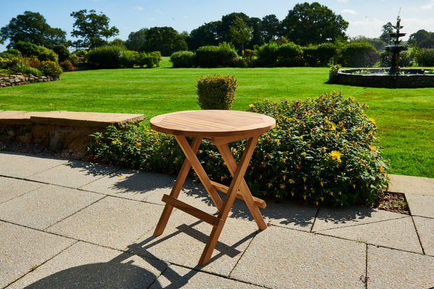 Tatton Folding Round Coffee Table